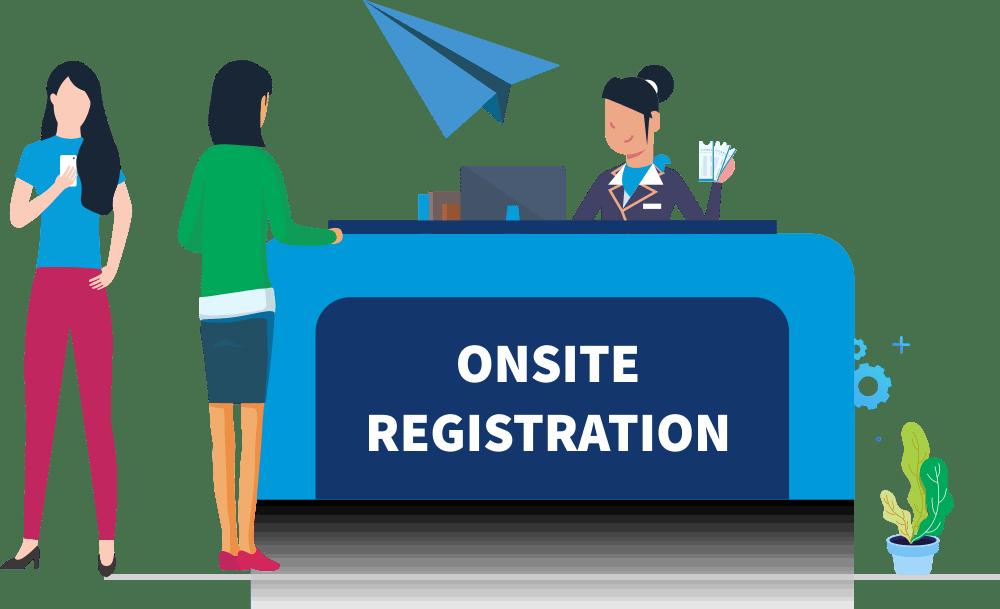 Onsite Event Registration Platform