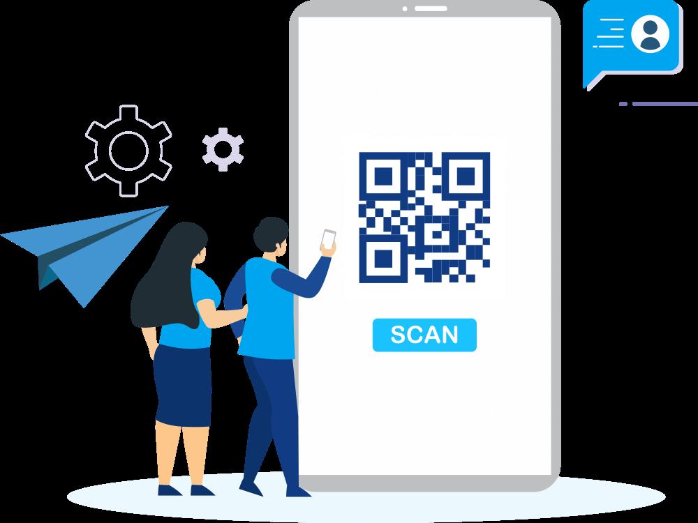 Scan QR Code feature