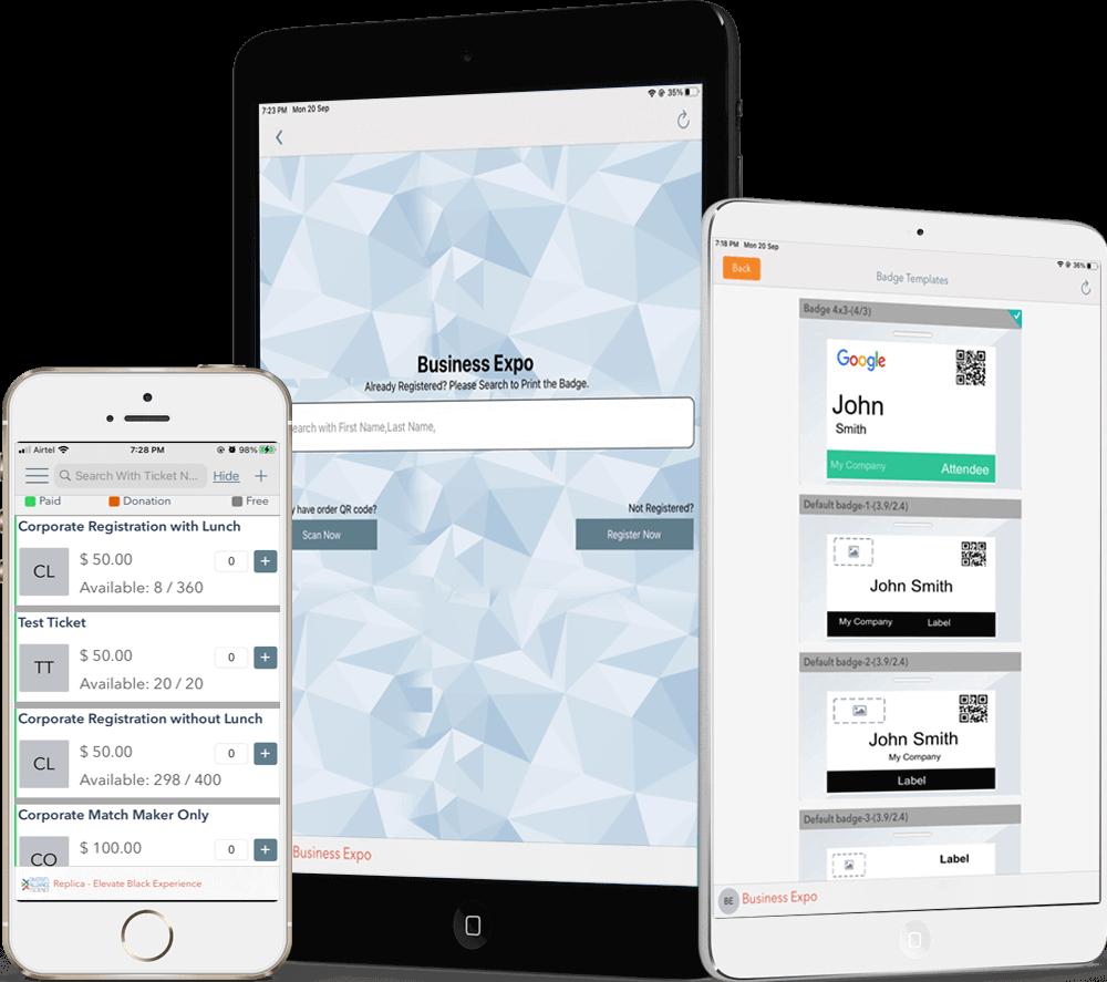 Eventdex app for IOS